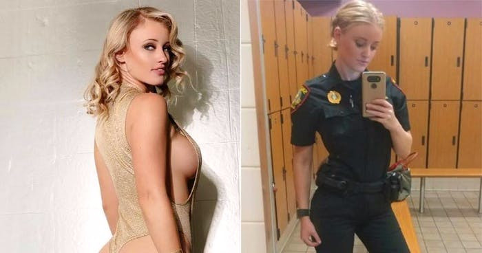 What is Sexy: Hot Cop Haley Drew