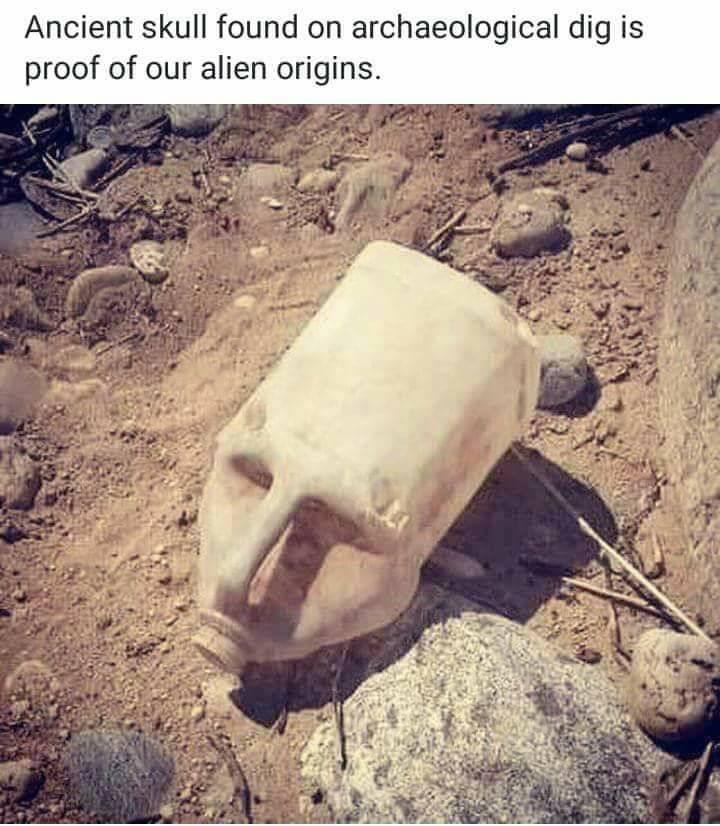 Ancient Alien Theory Joke