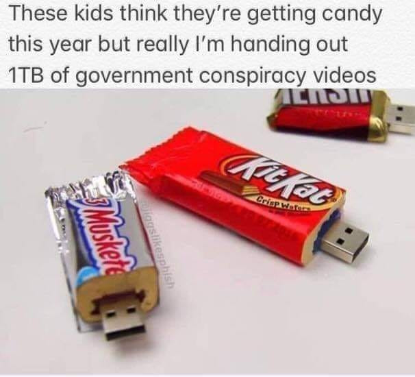 Conspiracy Theory is Our Kind of Candy