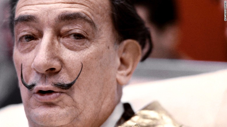 Artist Salvador Dali's Body Is Being Exhumed