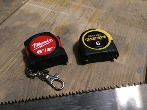 Tool Review: Mini Tapes - Milwaukee vs Stanley
