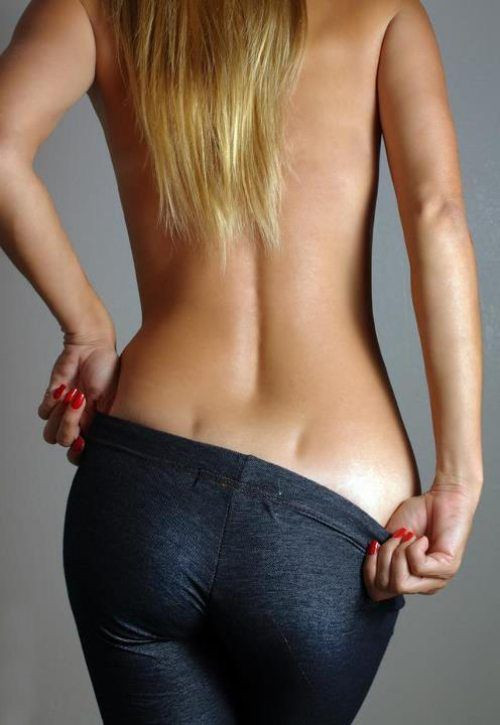 back dimples