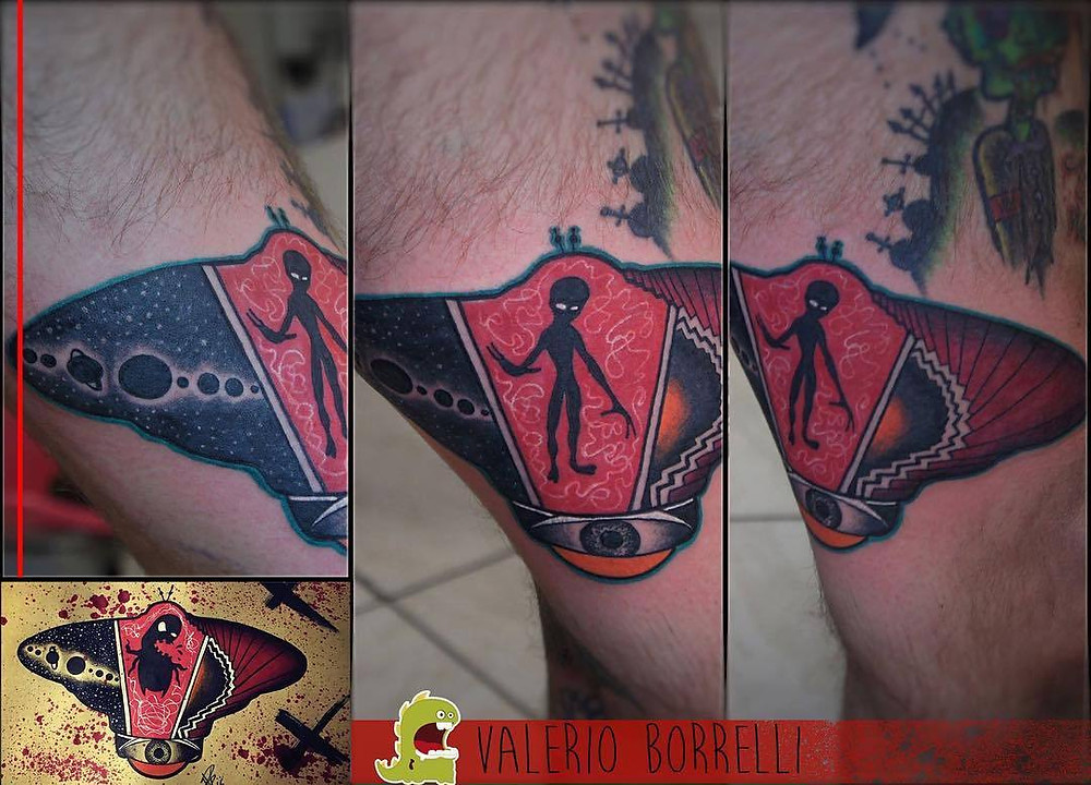UFO and Alien Tattoos