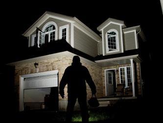 burglar watching house
