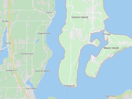 Erratic UFO Sighted Over Vashon Island Washington