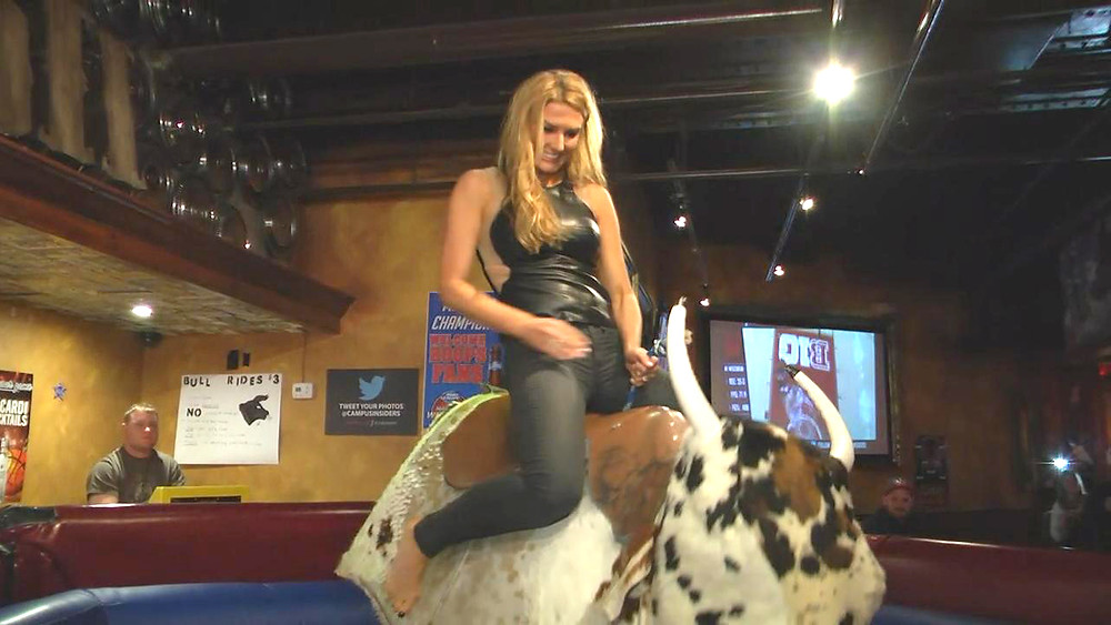 What is Sexy: Girls Riding Mechanical Bulls