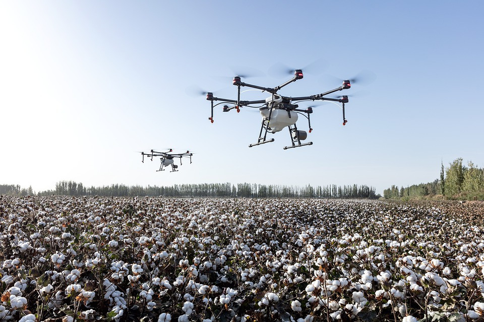 drone use in agriculture