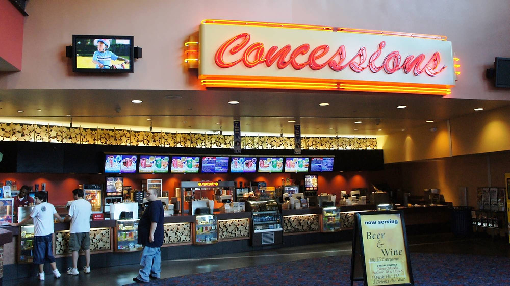 movie concession stand