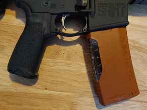 Pumpkin Spice Magazine for the AR-15