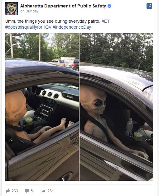 georgia alien