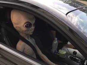 Alien pulled over in Georgia