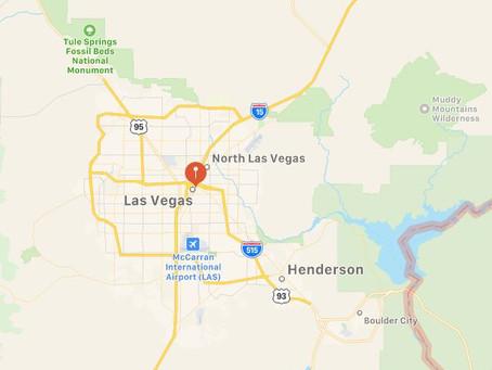 UFO Sighting Outside Las Vegas