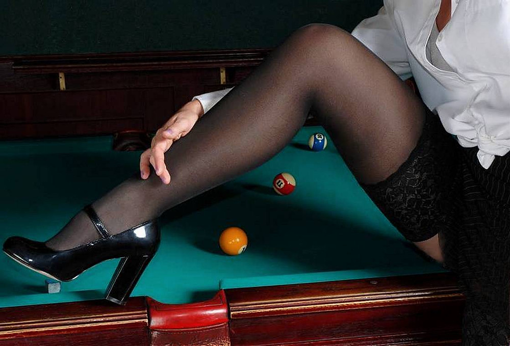 What is Sexy: Girls Playing Pool