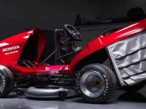 This Honda Lawnmower Can Go 134 mph