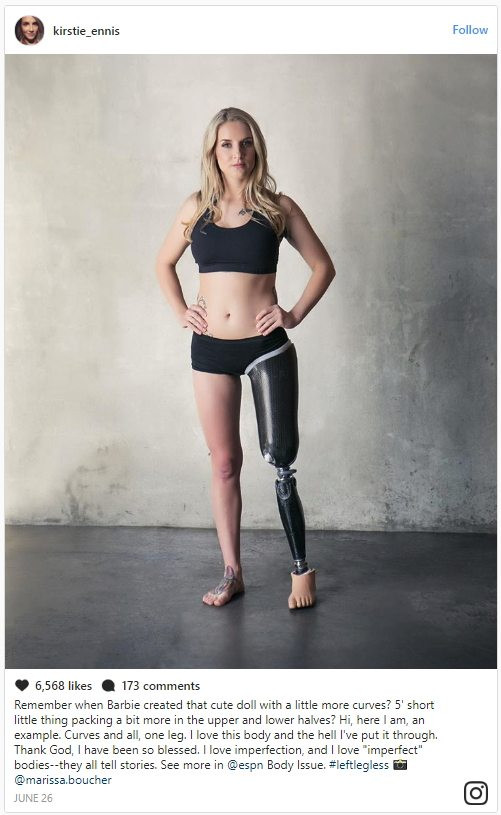 What is Sexy: Marine Kirstie Ennis