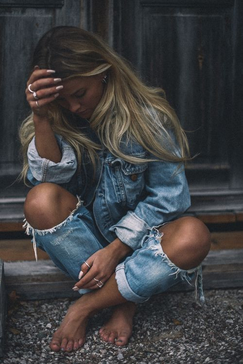What is Sexy: Ripped & Torn Jeans