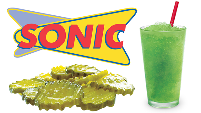 Sonic Pickle Juice Slushies