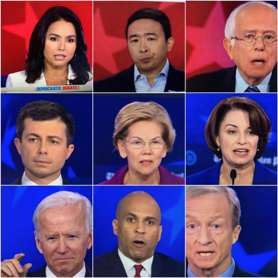 Subliminal Messaging in the Democratic Debate