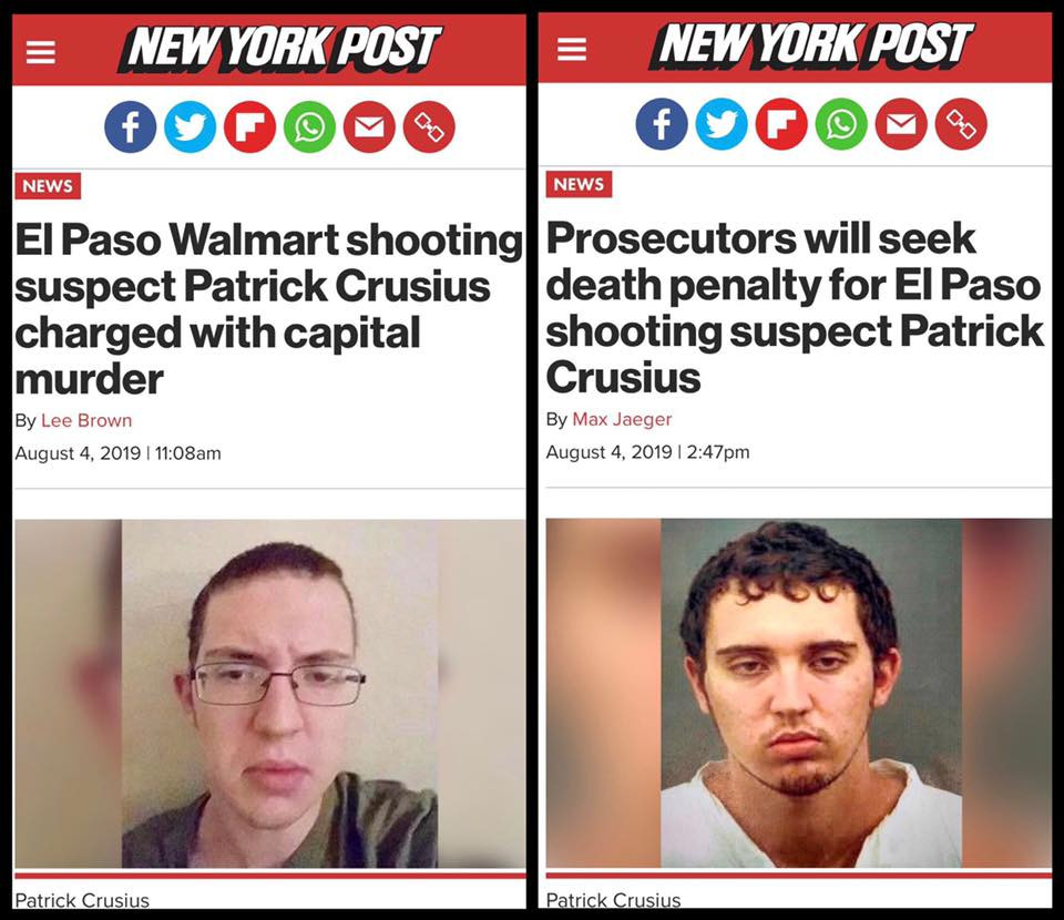 Texas Walmart Shooter Patrick Crusius