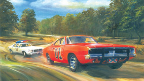 Man Leads Police Chase in General Lee Replica