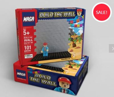 Lego-Like Toy Set Allows Children To 'Build The Wall'