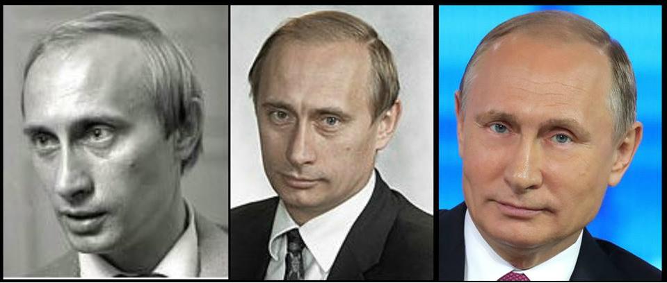 Putin Balding Illuminati