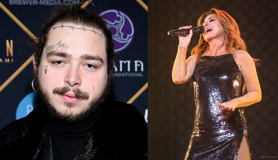 Shania Twain Wants to Collab with Post Malone