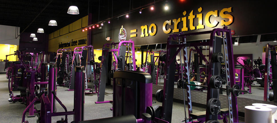 naked workout in Planet Fitness