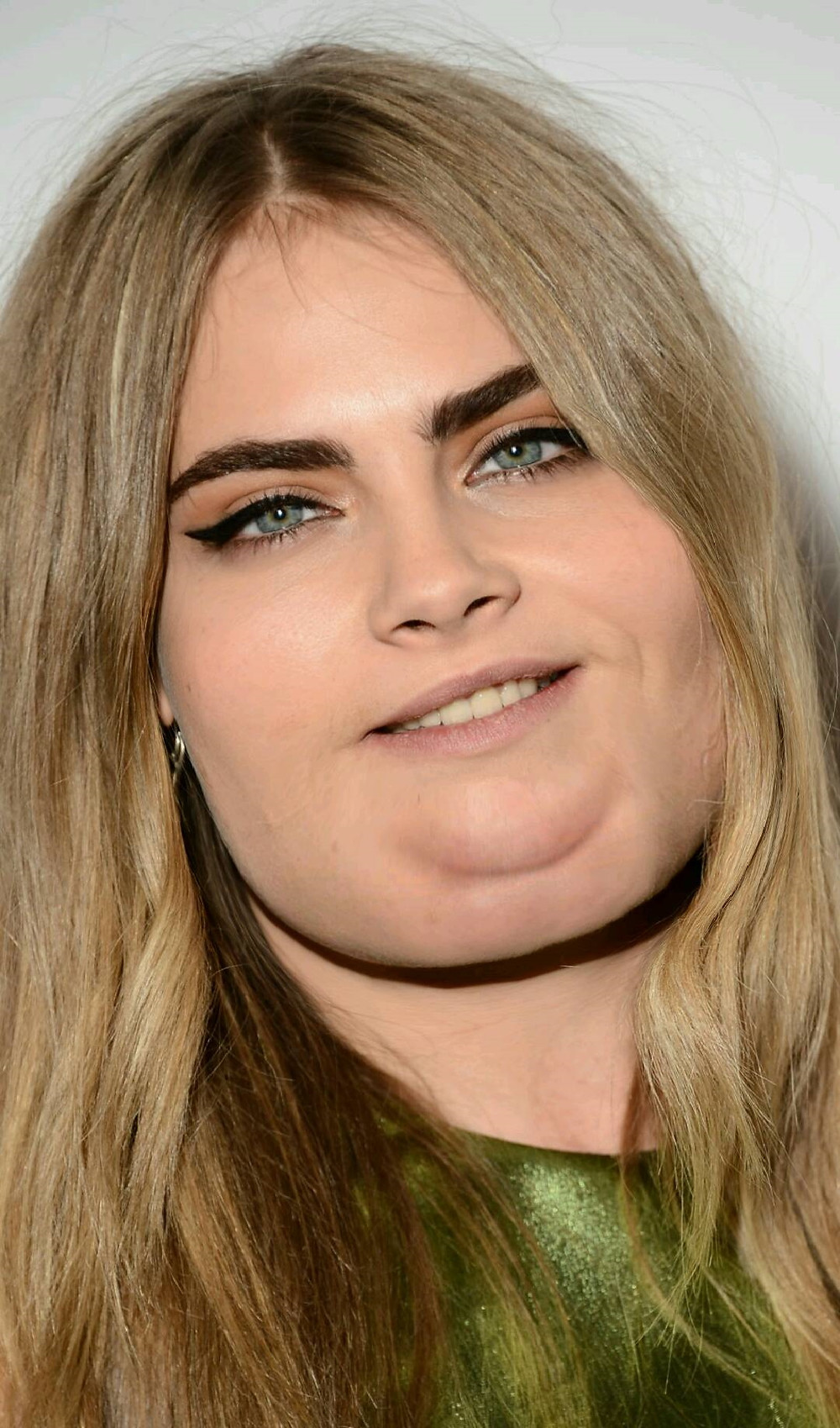 Ever Wonder What Hot Celebrities Would Look Like Fat?