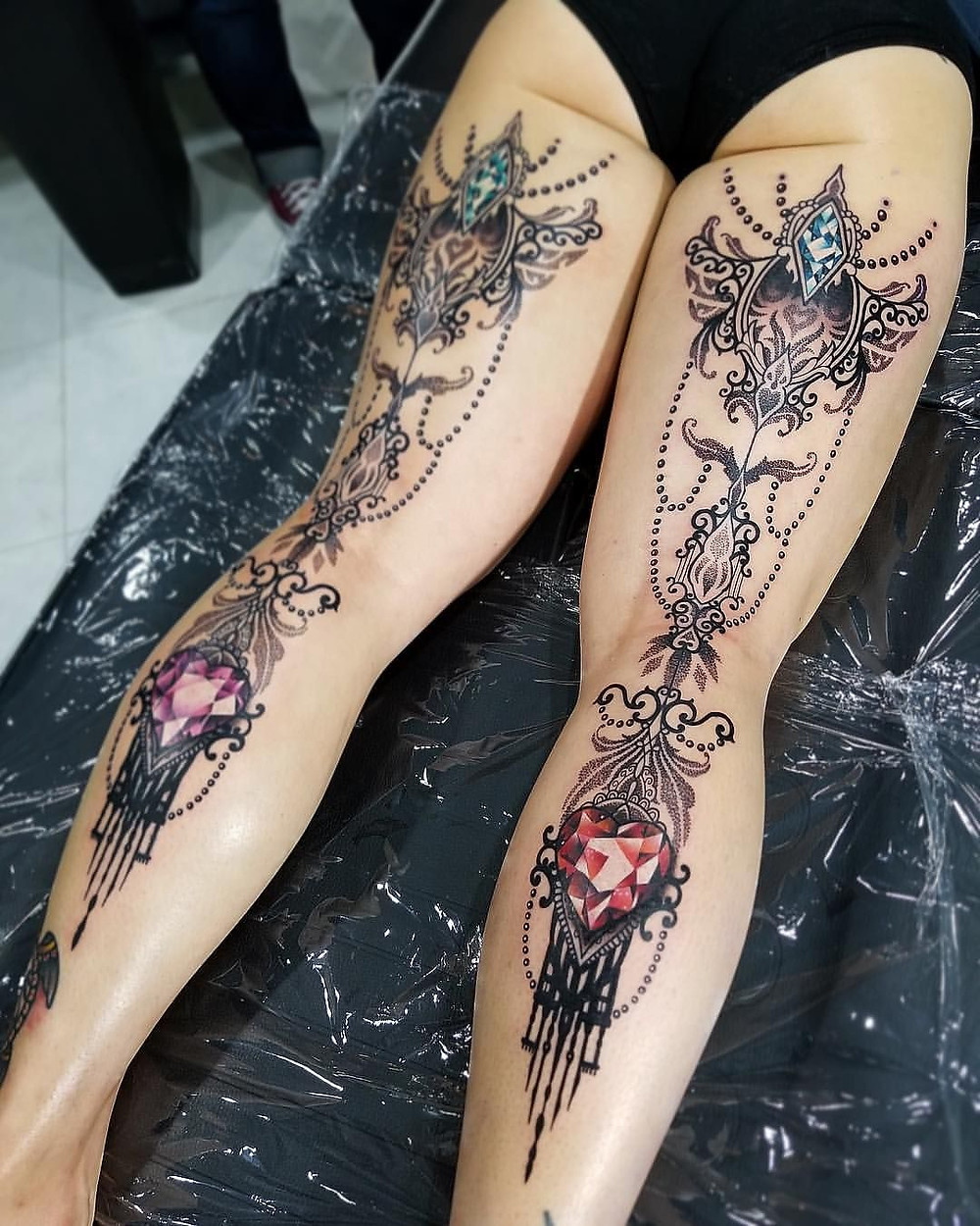 What is Sexy: Thigh Tatts