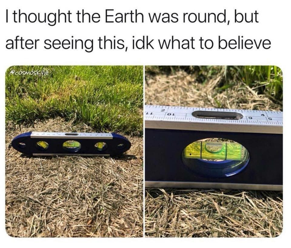 flat earth theory proof