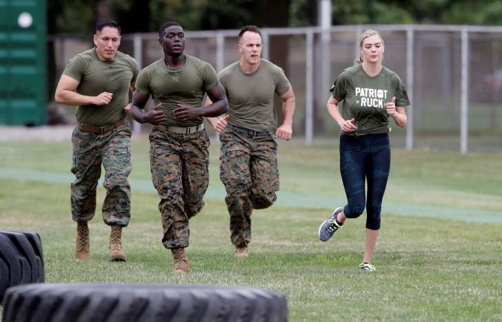 Kate Upton Marines