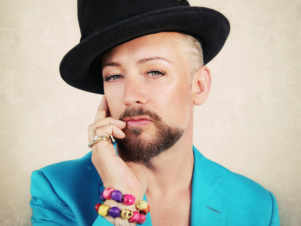 "Boy George Defines Gender ""Pronouns"" for an Instagram Follower"