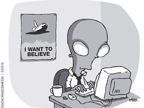 UFO and Alien Cartoons 4
