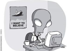 UFO and Alien Cartoons 4