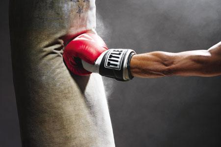emotional punching bag