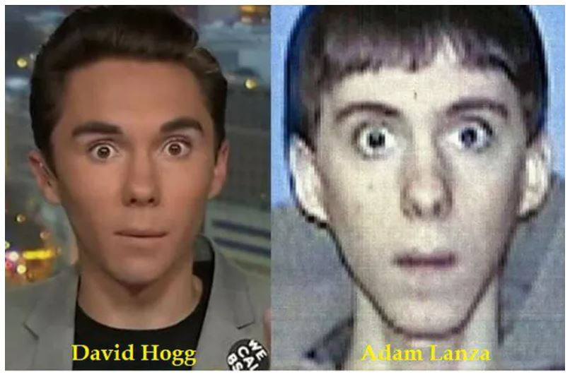 Best Conspiracy Theory: David Hogg is also Adam Lanza