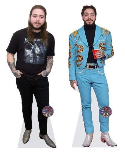 post malone life size cutouts