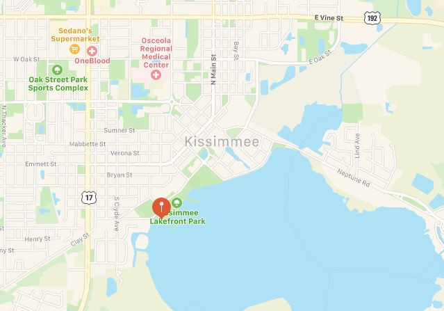 Reader Reported Sighting Near Kissimmee, Florida