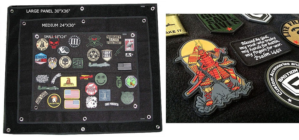 Best Ways to Display A Morale Patch Collection