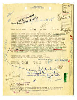 Hitler escaped declassified FBI documents