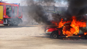 Car Bursts into Flames Minutes After Oil Change at Jiffy Lube