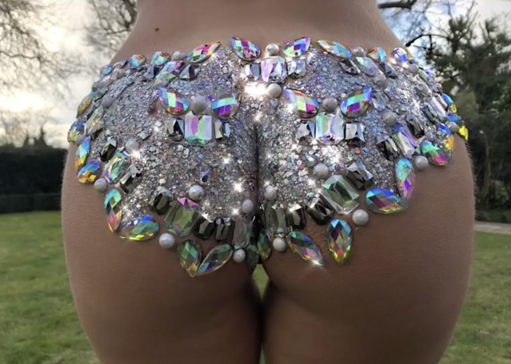 What is Sexy: Glitter Butts