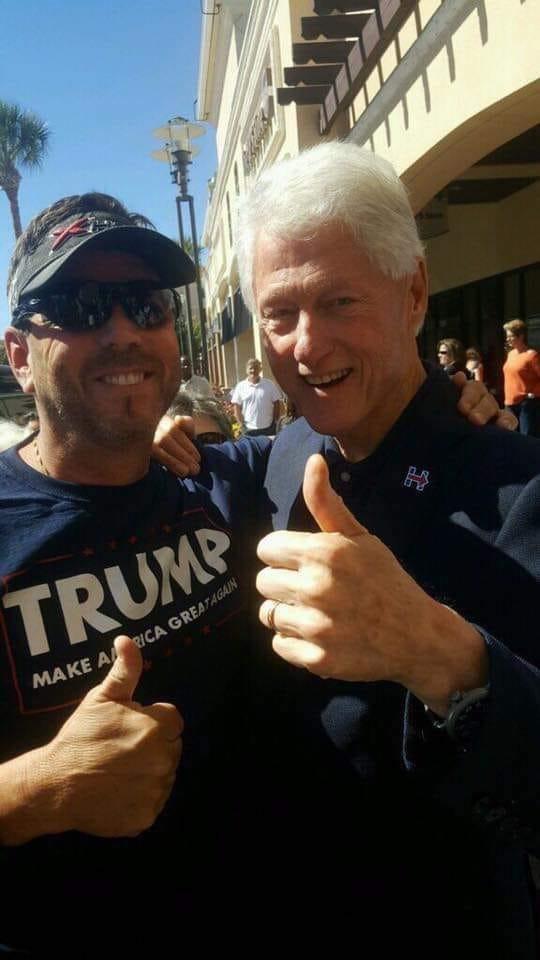 Bill Clinton a Secret Trump Supporter?