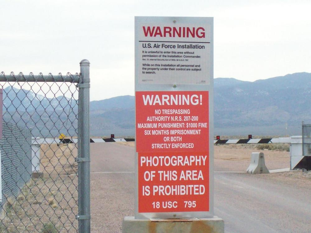 area 51 main gate