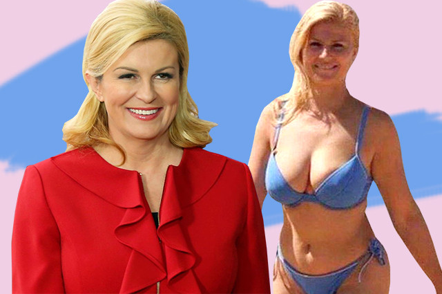 Sexy Croatian President Kolinda Grabar