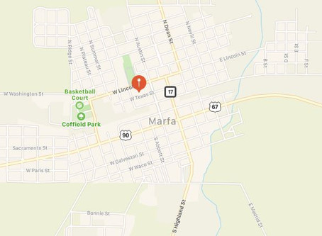 UFO Sighting in Marfa, Texas