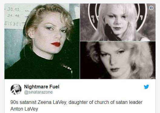 Taylor Swift is a Satanic Priestess?