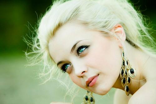 green eyed blonde