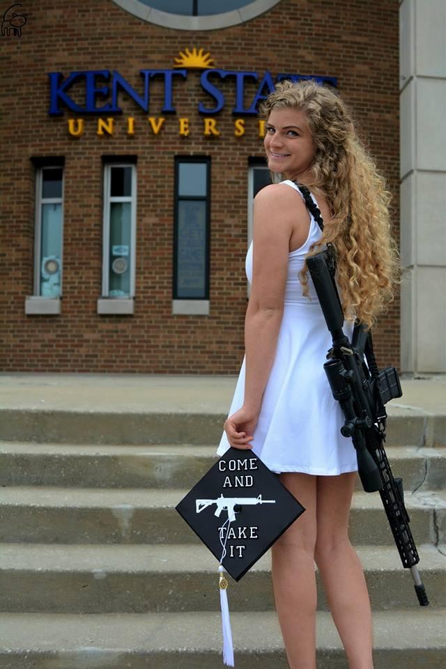 Kaitlin Bennett Kent State gun policy